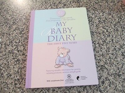 MY BABY DIARY-Christina Forbes - THE FIRST FIVE YEARS - Baby Keepsake Diary