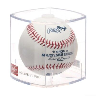 Rawlings Official MLB Baseball in Collectible Cube