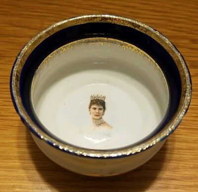 Windsor Canada King George V Queen Mary Commemorative Bowl #8