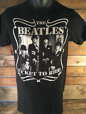 The Beatles Ticket To Ride 2013 Camiseta TALLA M