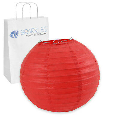 """5 pcs 6"""" inch Chinese Paper Lantern - Red - Wedding Party Event Decoration oa"""