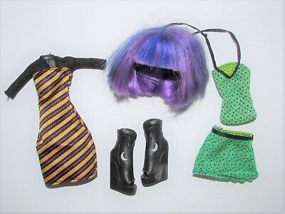 Clothes, Shoes & Wig from Monster High CAM Doll