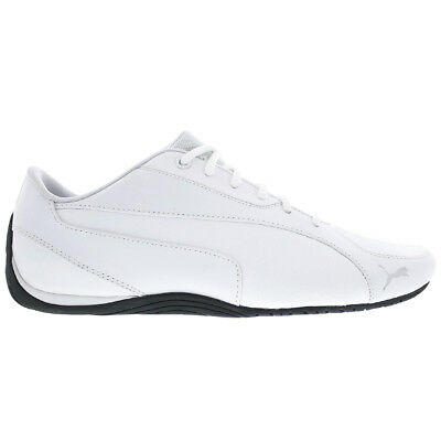 PUMA DRIFT CAT 5 Core Mens Shoes White Leather Trainers Gym Shoe New ... 4184a9481