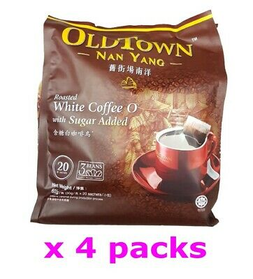 OldTown Nan Yang Old Town Malaysia Roasted White Coffee O with sugar (30gx 80s )