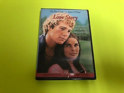 Love Story (DVD, 2001, Widescreen) Ryan O'Neal, Ali MacGraw, New Factory Sealed