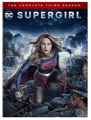 Supergirl: The Complete Third Season 3 (Brand New, DVD, 5-Disc Set)