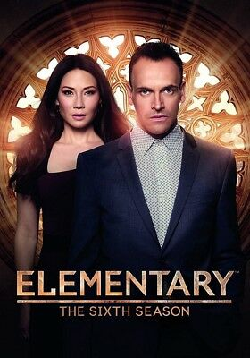 Elementary: The Sixth Season 6 (Brand New, DVD, 6-Disc Box Set)