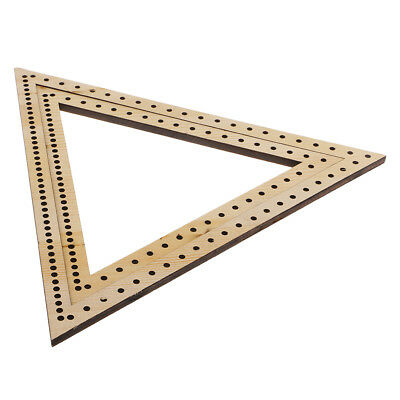 2 Sizes Wall Hanging Decoration Ornament DIY Knitting Weaving Loom Triangle