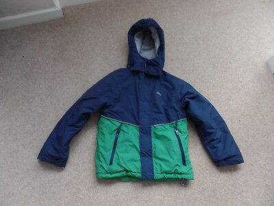 f13a754589e9 TRESPASS BOYS JACKET age 5-6 years waterproof in good used condition ...