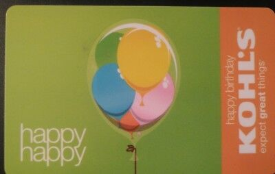 Happy Birthday with Balloons, Vintage Collectible                           (JJ)