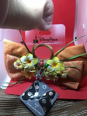 Disney Parks Enchanted Tiki Room Interchangeable Bow NEW With Tags