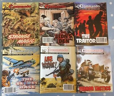 Commando Comics - Please select your number and title from the list available