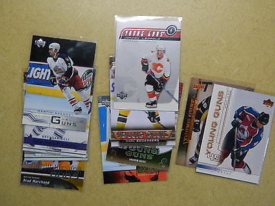 Upper Deck 2005-06 to 2015-16 Young Guns pick 1 to complete your set