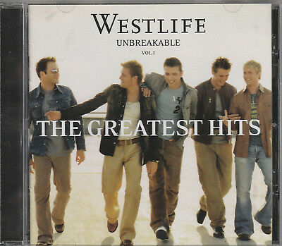 2002 - Westlife - Unbreakable Vol 1 Cd - The Greatest Hits Album