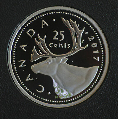 2017 Canada Classic design 25 cent coin 99.99% silver -  in proof finish