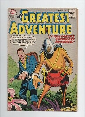 My Greatest Adventure #34 (Aug 1959, DC) fn-