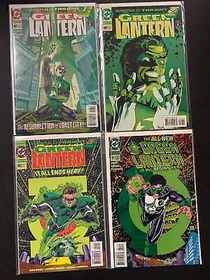 Green Lantern #48 #49 #50 #51 - 48-51 1st Kyle Rayner Emerald Twilight NM+ 9.6