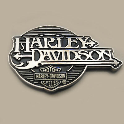 3D Metal Shield Art Emblem / Medallion For Harley Davidson Tank / Body