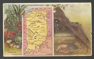 Victorian Trade Card - Arbuckle Bros. Coffee Co. Indiana - Late 1800's