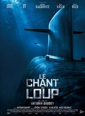 Le Chant du loup - Affiche cinema 40X60 - 120x160 Movie Poster