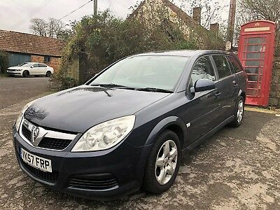 2007 VAUXHALL VECTRA 1.9 CDTi 150 EXCLUSIVE DIESEL AUTOMATIC ESTATE 2 OWNERS
