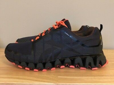 88b1e098b58 Reebok ZigTech Zigwild TR 2 Athletic Running Shoes - Men Size 10- Gravel Blk