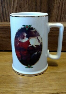 "Coca Cola Mug 1996 Collector Edition ""Good Boys And Girls"" Santa Claus Brand New"