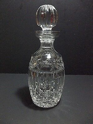 Vintage Waterford Crystal Decanter GTE BYRON NELSON CLASSIC Prize GOLF Award