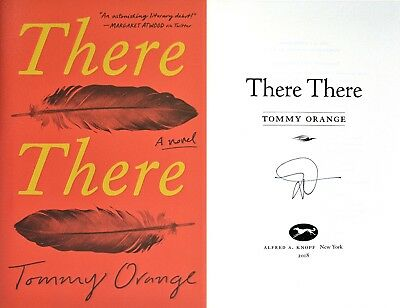 Tommy Orange~SIGNED~There There~1st/1st HC + Photos!!