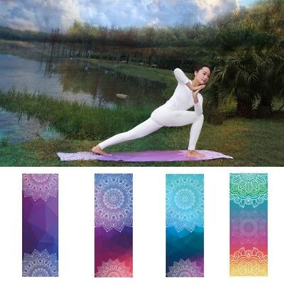Yoga Pilates Exercise Mat Carpet Portable Travel Mat Sports Fitness Rug Cover
