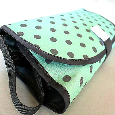 Waterproof Portable Clean Hands Baby Diaper Changing 3-in-1 Diaper Clutch Pad e3