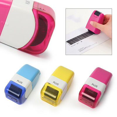 Mini Plus Guard Your ID Roller Stamp SelfInking Stamp Messy Code Security