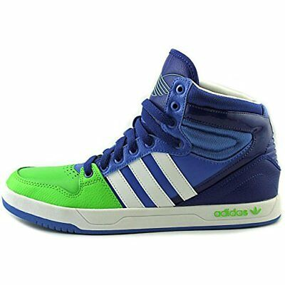 Adidas Men's Trefoil Court Attitude G99390 Blue Green White Mens Size 12