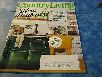 COUNTRY LIVING MAGAZINE January/February 2019 THE NEW NEUTRALS Perfect Paints