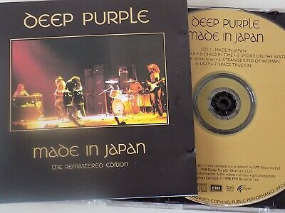 DEEP PURPLE - Made In Japan Expanded 2 x CD 1998 EMI Encores 2CD