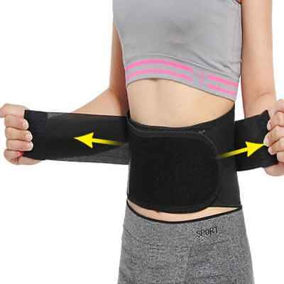 Adjustable Magnetic Heat Waist Belt Pain Relief Lower Back Lumbar Therapy Brace