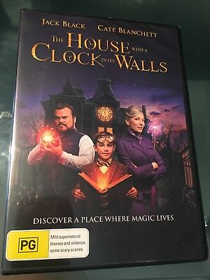 THE HOUSE WITH A CLOCK IN ITS WALLS DVD Brand NEW Release Region 4 Jack Black