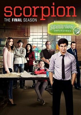 Scorpion: The Final Season 4 (Brand New, DVD, 6-Disc Set)