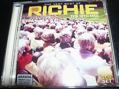 The 12th Twelfth Man The Very Best Of Richie (Australia) 2 CD - Like New