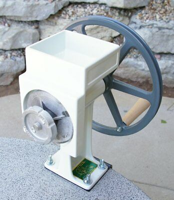 Country Living Hand Grain Mill (White)