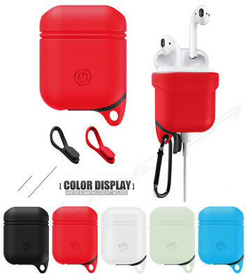 Waterproof AirPods Silicone Case Cover Protective Skin For Apple Airpod Charging