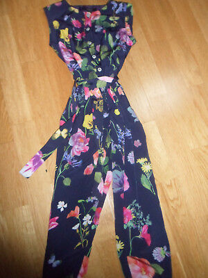 M & S Autograph Girls Jumpsuit / Playsuit age 5 - 6 (VGC)