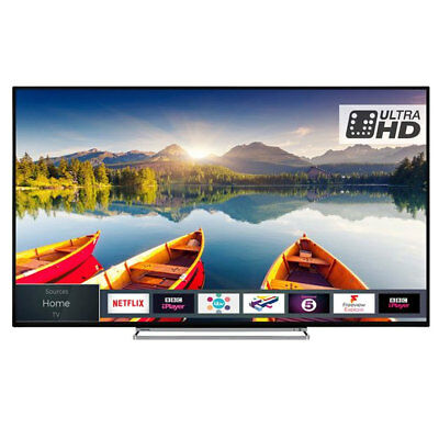 Toshiba 50U6863DB 50 Inch Smart 4K Ultra HD HDR LED TV Freeview HD Freeview Play