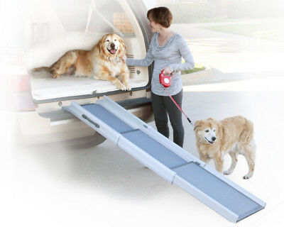 Solvit PetSafe Triscope Pet Ramp, 67 cm- 177 cm, Adjustable, Anti- Slip