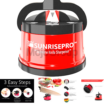 Sunrisepro Supreme Knife Sharpener For All Blade Types Razor Sharp Precisio