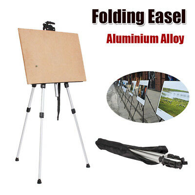 Alloy Easel Artist Easels Display Stand Art Painting Canvas Tripod Nylon Bag