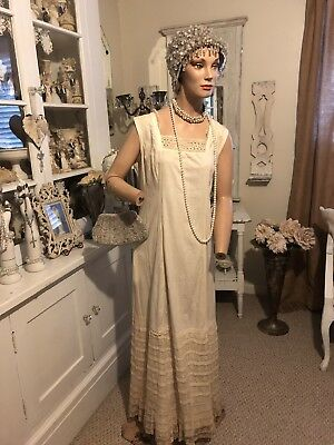Vintage Beautiful Tall Female Full Mannequin Dress Form W/Stand Store Display