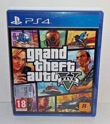 Grand Theft Auto V (GTA 5) PS4 USATO ITA