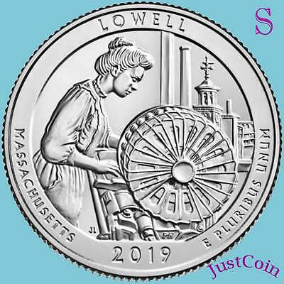 2019-S Lowell National Historic Park (Ma) Uncirculated Quarter