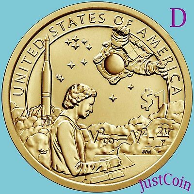 2019-D Native American Space Program Uncirculated Sacagawea Dollar